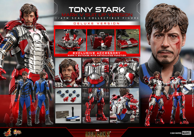 Hot Toys Tony Stark (Mark V Suit Up Version) Sixth Scale Figure Pre-Orders
