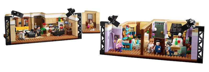 LEGO Ideas The Friends Apartments 10292 Set