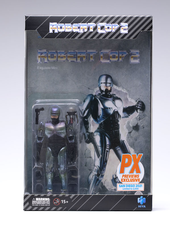Hiya Toys SDCC 2021 Exclusive – Robert Cop 2 Variant Figure