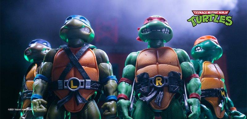 Super7 Teenage Mutant Ninja Turtles Ultimates – Wave 1 Turtle Reissue Pre-Orders