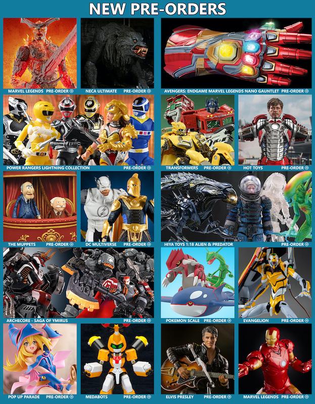 BigBadToyStore News – Nano Gauntlet, American Werewolf, Marvel Legends, Alien, Predator, DC Multiverse, Power Rangers, Archecore, Transformers, G.I. Joe & More