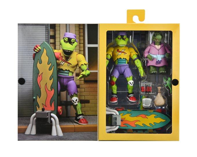 NECA Toys Teenage Mutant Ninja Turtles Mondo Gecko & Kerma Figures