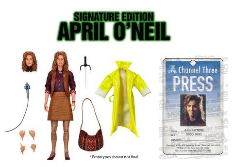 NECA Toys Teenage Mutant Ninja Turtles 1990 Movie April O'Neil Figure Pre-Orders & New Judith Hoag Video