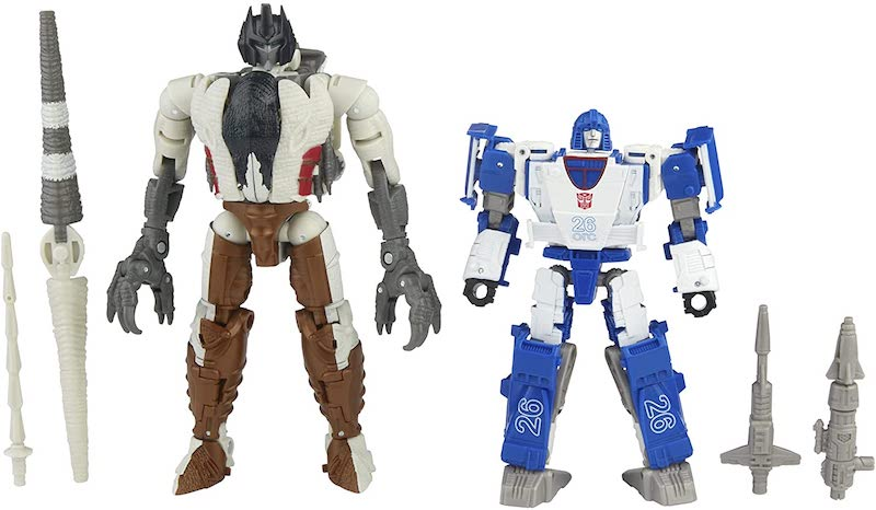 Hasbro Transformers War for Cybertron: Kingdom Battle Across Time Collection Deluxe Autobot Mirage & Maximal Grimlock Figure Pre-Orders