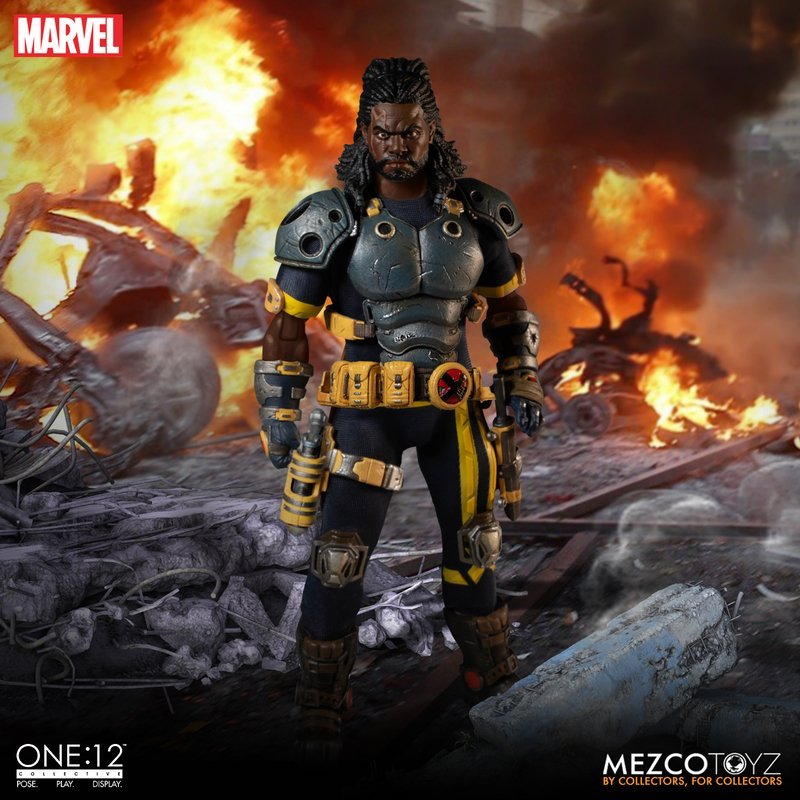 Mezco Toyz Bishop The Last X-Man One:12 Collective Figure Pre-Orders