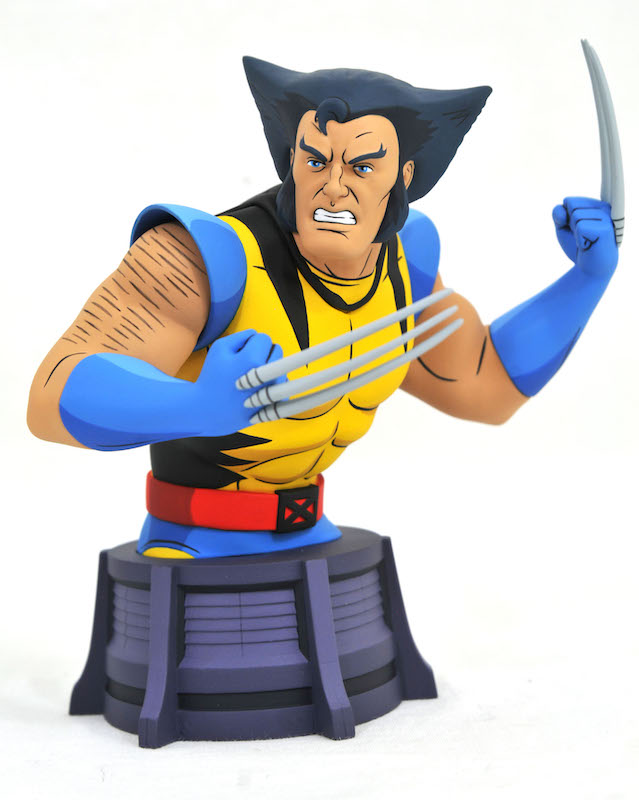 Diamond Select Toys X-Men: The Animated Series Wolverine Bust Now At Wal-Mart