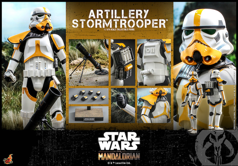 Hot Toys Artillery Stormtrooper Sixth Scale Figure Pre-Orders