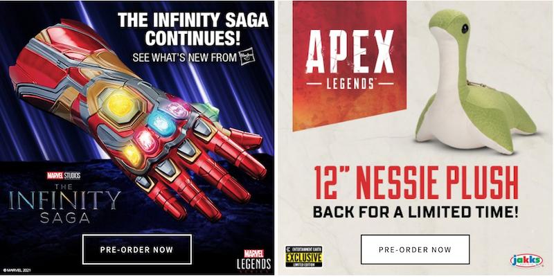 Entertainment Earth News – Mechagodzilla, TMNT, Invincible, Marvel Legends, MOTU, Star Wars, New Sale & More
