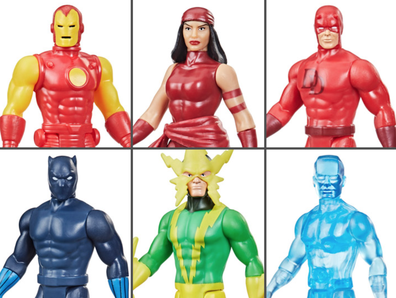 Hasbro Marvel Legends Retro Wave 2 – 3 3/4″ Figures Available Now