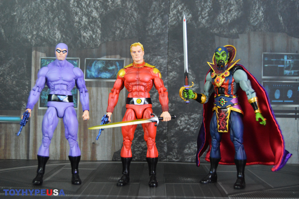 NECA Toys Defenders Of The Earth The Phantom, Flash Gordon & Ming Figures Review