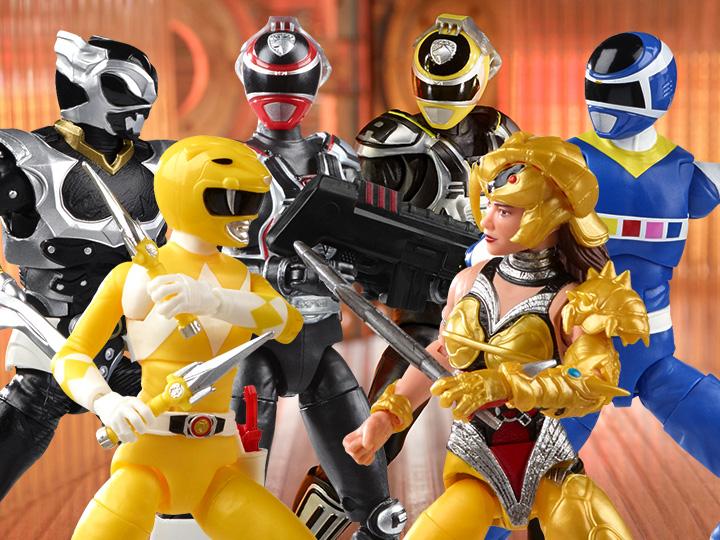 Hasbro Power Rangers Lightning Collection Fan First Friday Reveals – S.P.D. & MMPR