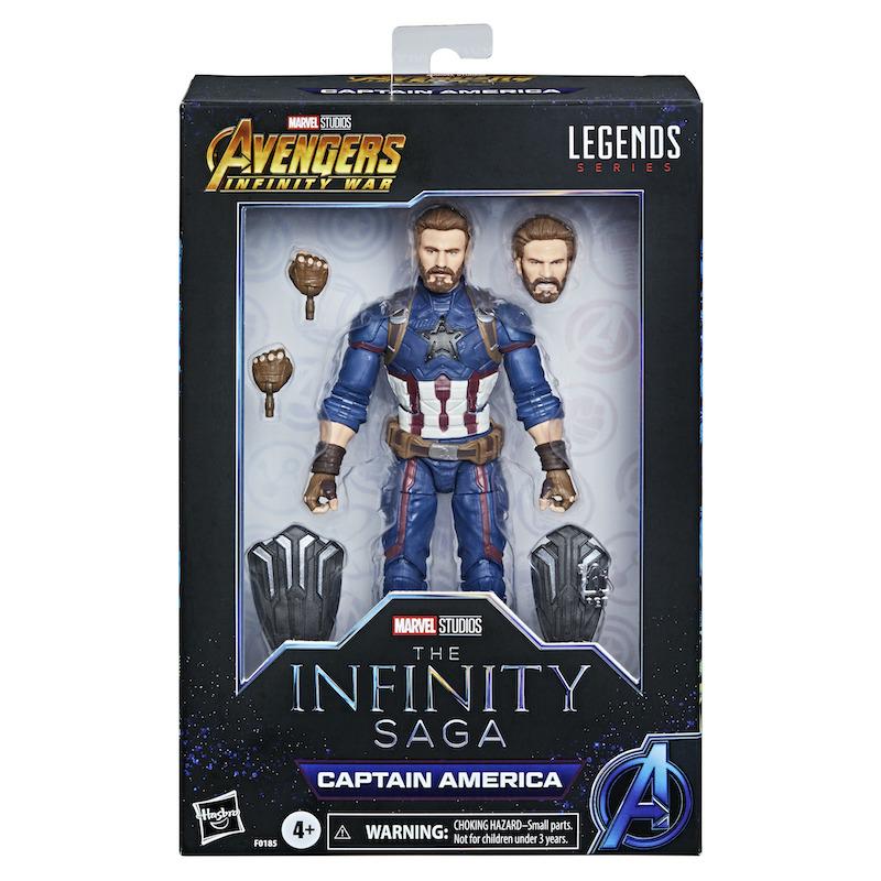 Hasbro Marvel Legends 6″ Infinity Saga Captain America Exclusive Figure Pre-Orders