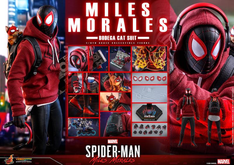 Hot Toys Spider-Man: Miles Morales – Bodega Cat Suit Figure Pre-Orders