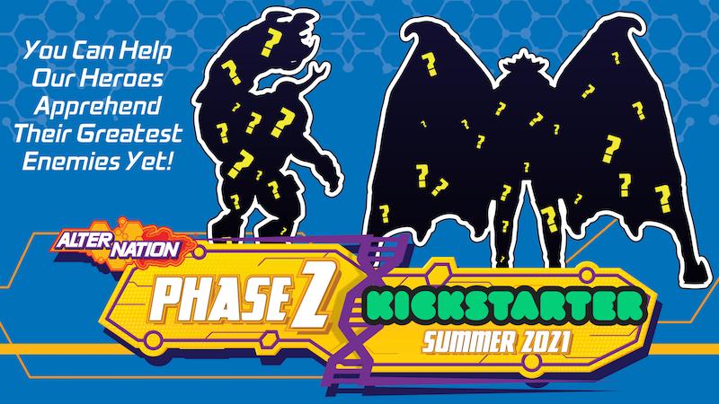 PandaMony Toys – Alter Nation Alpha & Bomber Wave 2 Figures Update