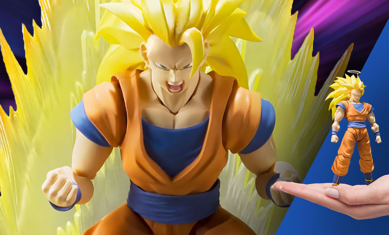 Sideshow – S.H. Figuarts Super Saiyan 3 Goku Figure Reissue Pre-Orders