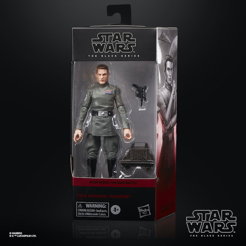 Hasbro Star Wars TBS The Bad Batch Vice Admiral Rampart Figure Pre-Orders