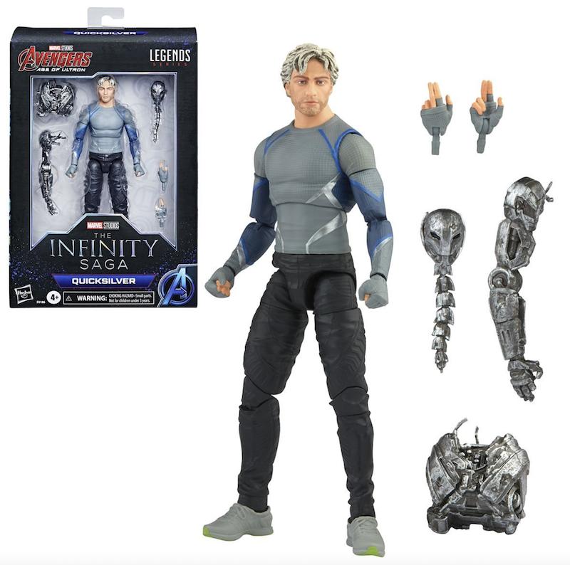 Hasbro Marvel Legends Avengers Infinity Saga Quicksilver Figure Pre-Orders