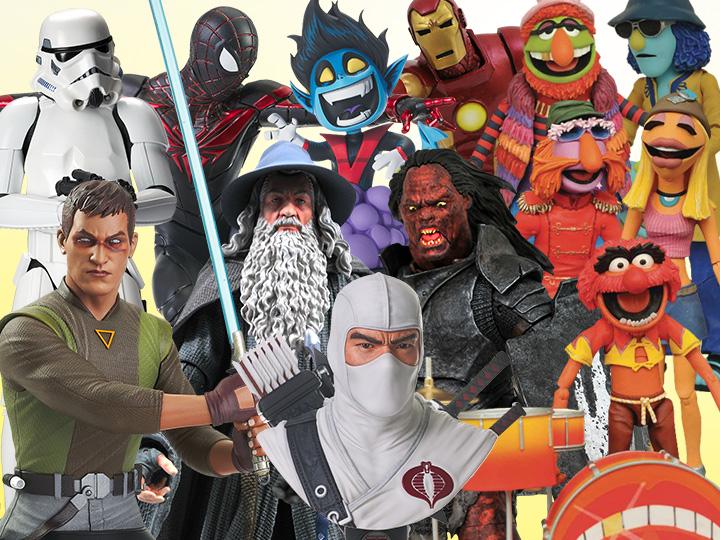 Diamond Select Toys Solicitations For September 2021 – LOTR, G.I. Joe, Marvel, Star Wars & More