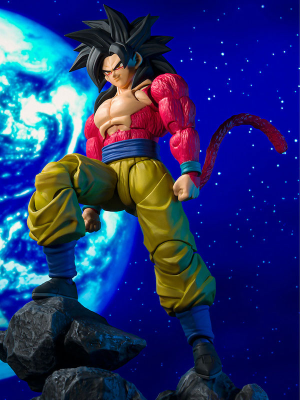 S.H. Figuarts Dragon Ball GT – Super Saiyan 4 Son Goku Figure