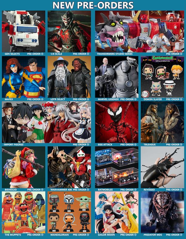 BigBadToyStore News – Transformers, MOTU, Marvel/DC MAFEX, Marvel Legends, Warhammer, Demon Slayer, LOTR, Dragon Ball & More