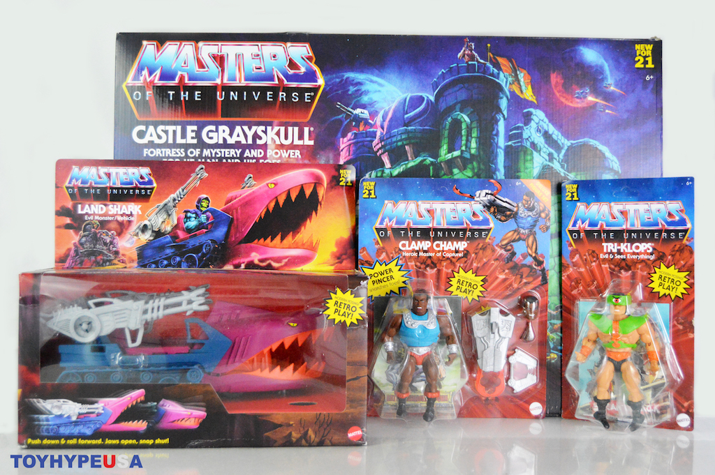 Mattel – Masters Of The Universe: Origins Castle Grayskull PR Box