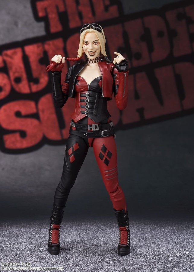 S.H. Figuarts The Suicide Squad Harley Quinn Figure Pre-Orders On Amazon