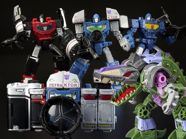 Hasbro Reissues Transformers WFC Refraktor & Quintesson Allicon Figures