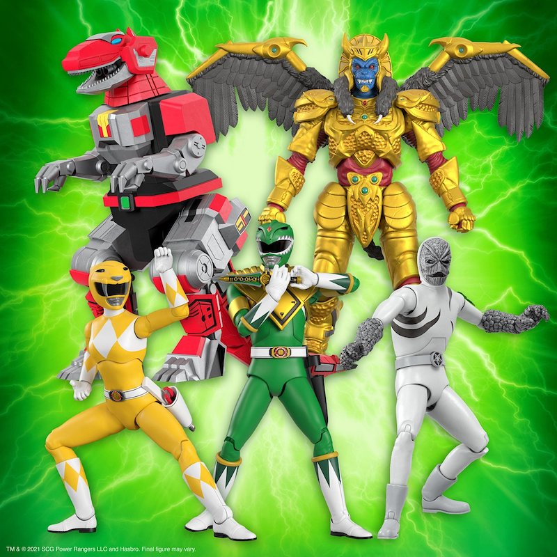 Super7 Mighty Morphin Power Rangers Ultimates Wave 1 Figure Pre-Orders