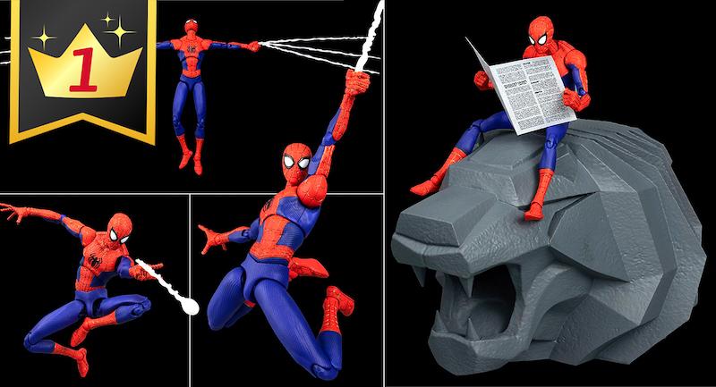 Hobby Link Japan – New Spider-Man, Mecha, & More
