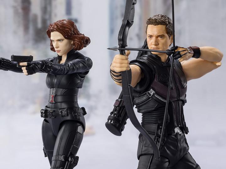 S.H. Figuarts The Avengers Black Widow & Hawkeye Figure Pre-Orders