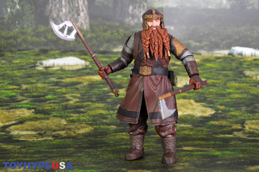 Diamond Select Toys Lord of the Rings Select Series 1 Gimli Figure Review