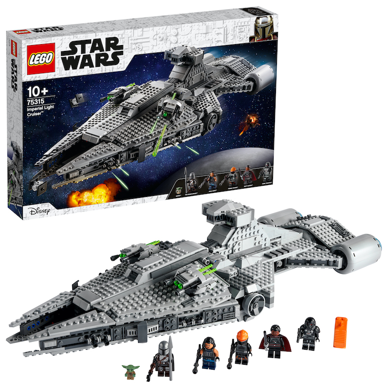 LEGO Star Wars Imperial Light Cruiser & More New Sets Revealed