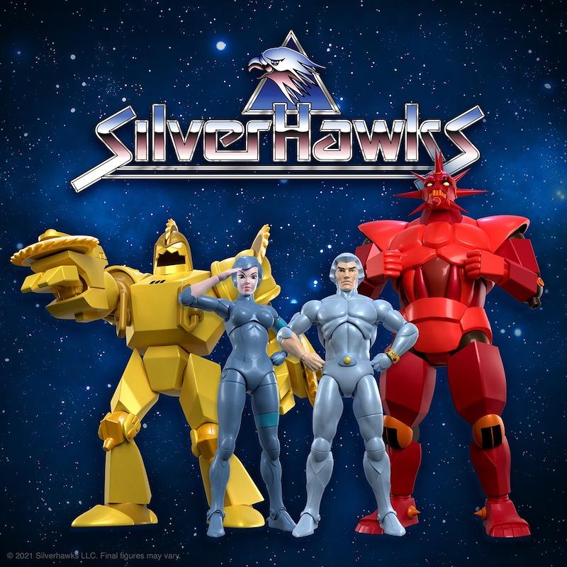 Super7 – Silverhawks Wave 1 Figure In-Packaging & Pre-Orders Today