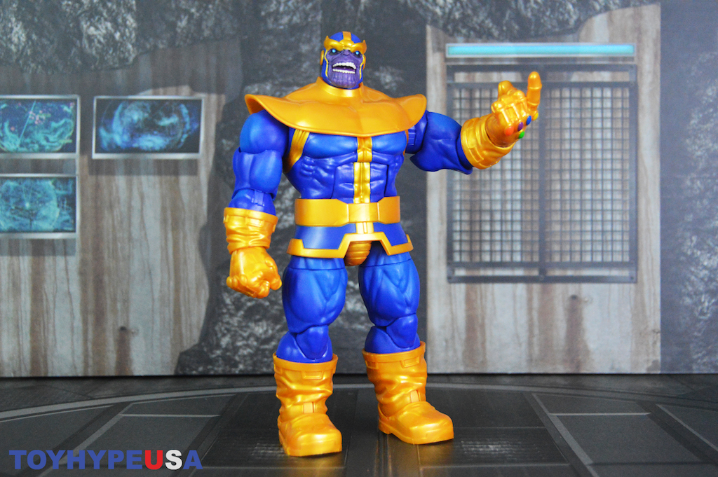 Hasbro Marvel Legends Deluxe The Infinity Gauntlet Thanos Figure Review