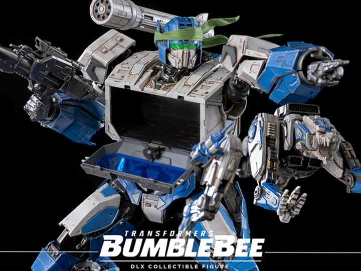 ThreeZero – BigBadToyStore Exclusive Transformers: Bumblebee DLX Scale Collectible Series Shattered Glass Soundwave & Ravage Figures