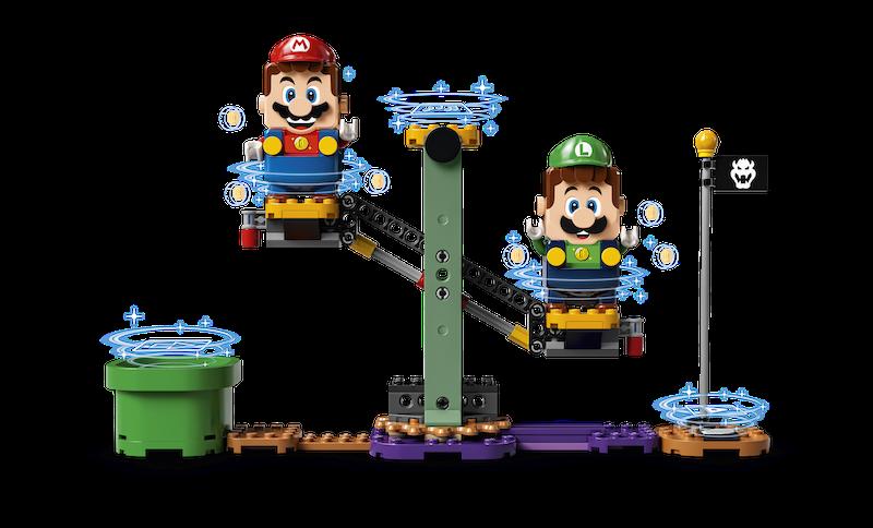 LEGO Super Mario – Mario & Luigi Team Up Sets