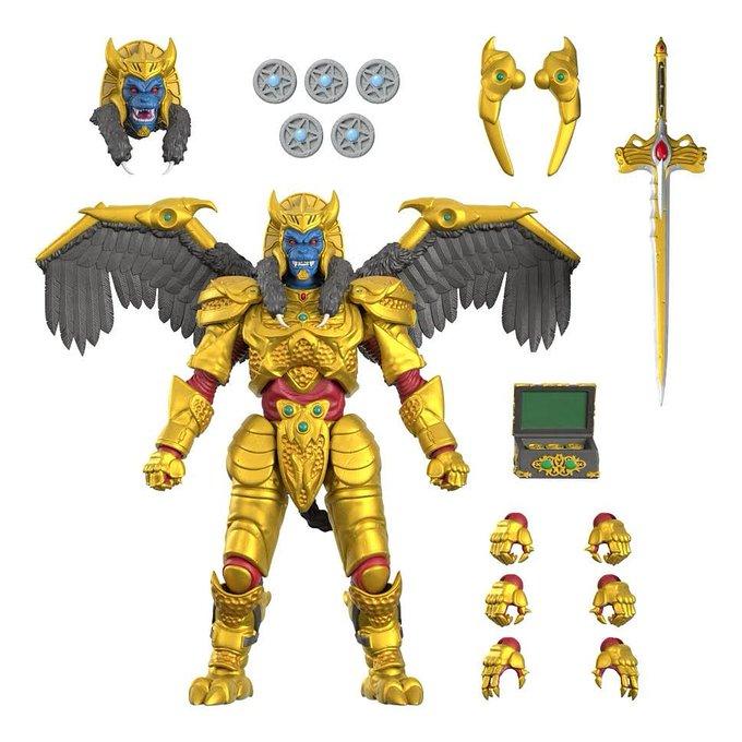 Super7 Announces Power Rangers Ultimates 7″ Scale Goldar Figure