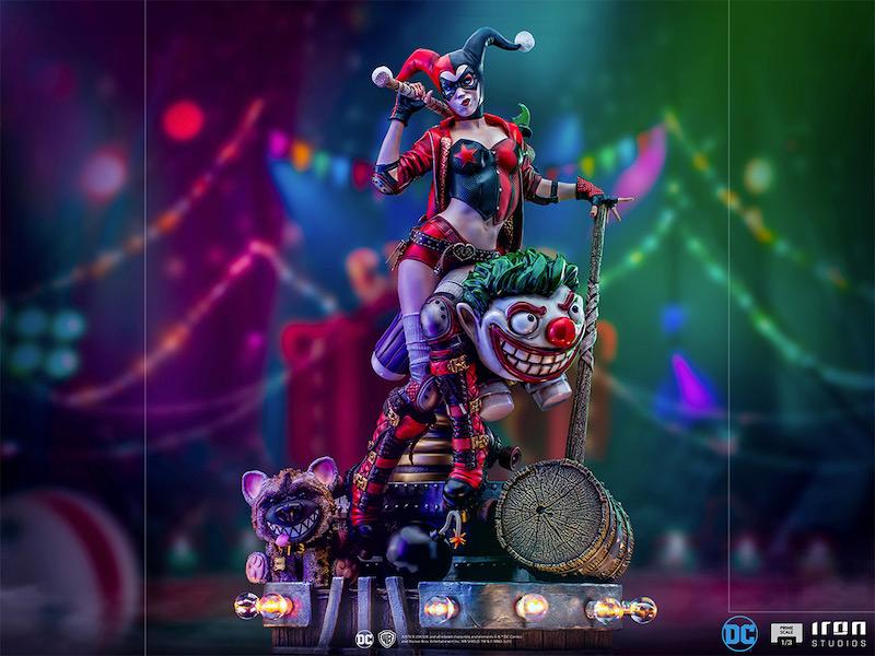 Iron Studios – DC Comics Harley Quinn Prime Scale Statue Pre-Orders