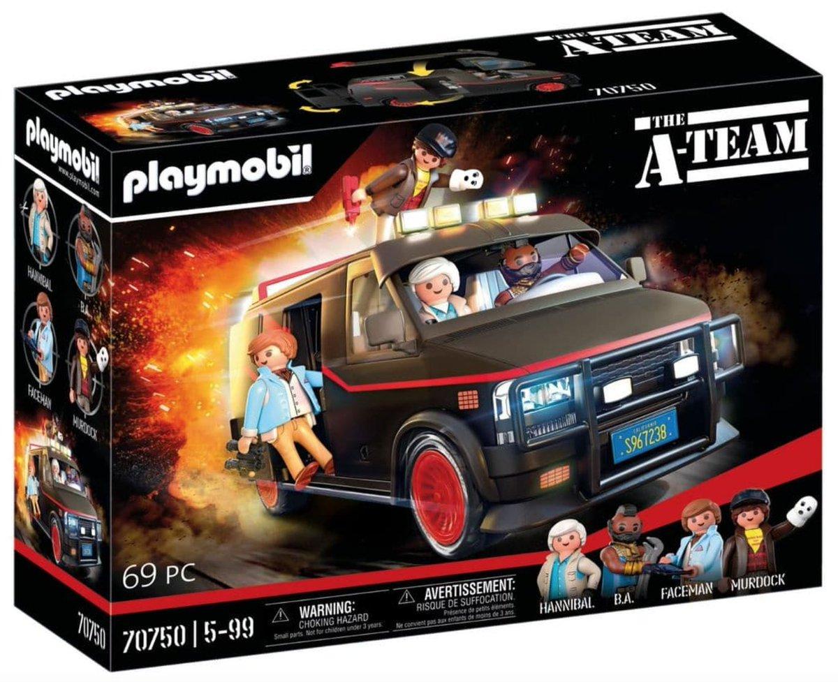 Playmobil 70750 The A-Team Van & Figure Set