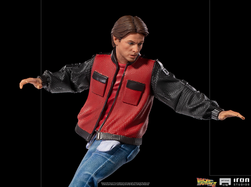 Iron Studios – Back to the Future Part II Marty McFly on Hoverboard Art Scale 1/10 Statue Pre-Orders