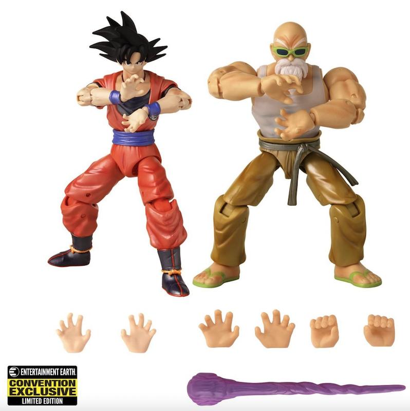 SDCC 2021 Exclusive – Dragon Ball: Super Dragon Stars Goku & Master Roshi Figure 2-Pack Pre-Orders