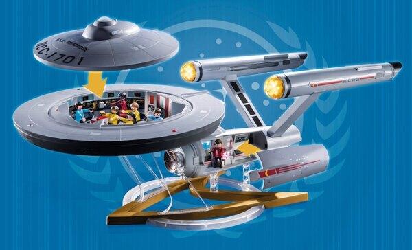 Playmobil & Star Trek – U.S.S. Enterprise Set Announced & Pre-Orders