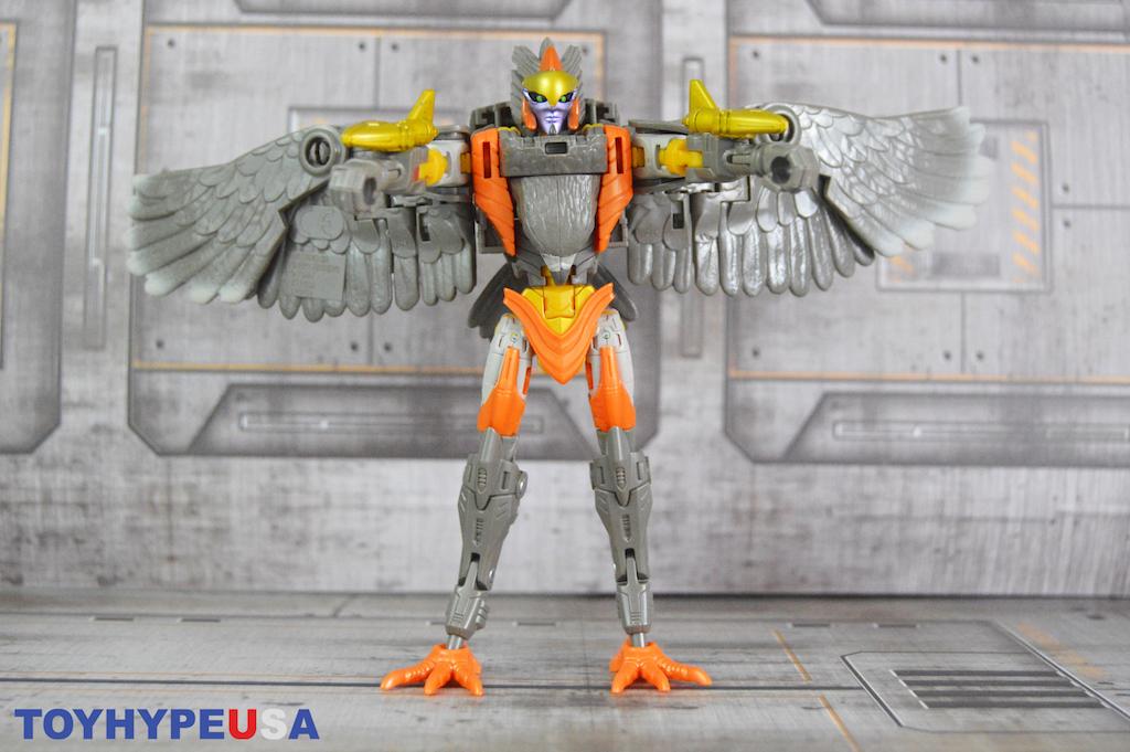 Hasbro Transformers War for Cybertron: Kingdom Airazor Figure Review
