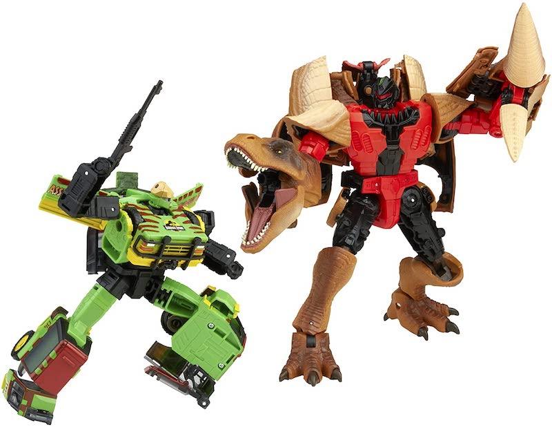 Hasbro Transformers x Jurassic Park – Collaborative Mash-Up Tyrannocon Rex & Autobot JP93 Figure Pre-Orders Back on Amazon