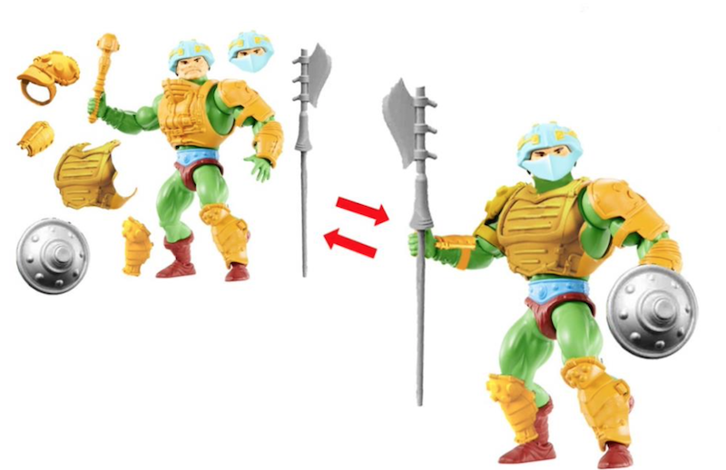 BigBadToyStore – Mattel – Masters of the Universe Origins Eternian Royal Guard Exclusive Figure Pre-Orders Update