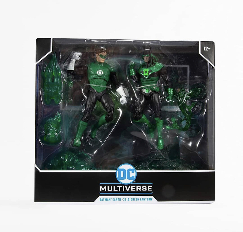 McFarlane Toys DC Multiverse Green Lantern Hal Jordan vs. Dawnbreaker Figure Set Pre-Orders On Amazon