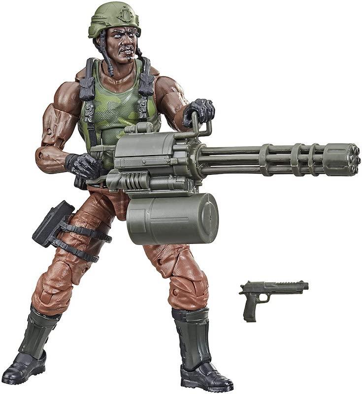 Hasbro G.I. Joe Classified 6″ Roadblock Figure Back Up On Amazon