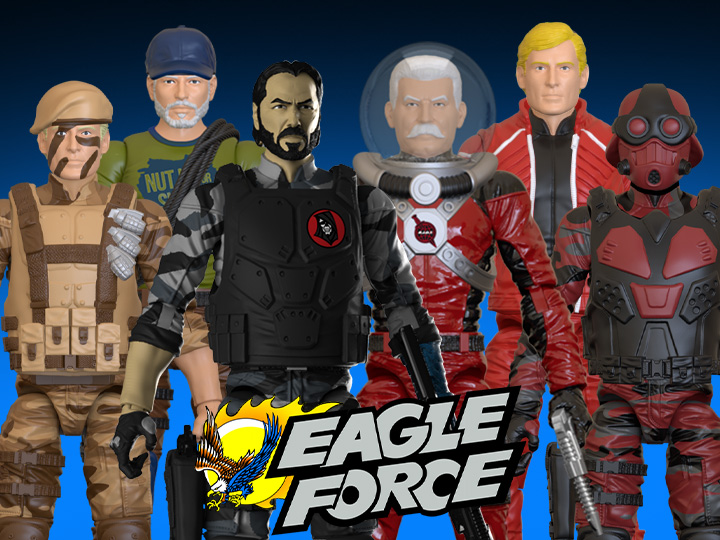 BigBadToyStore Exclusives – Fresh Monkey Fiction – Eagle Force Wave 5 Figures