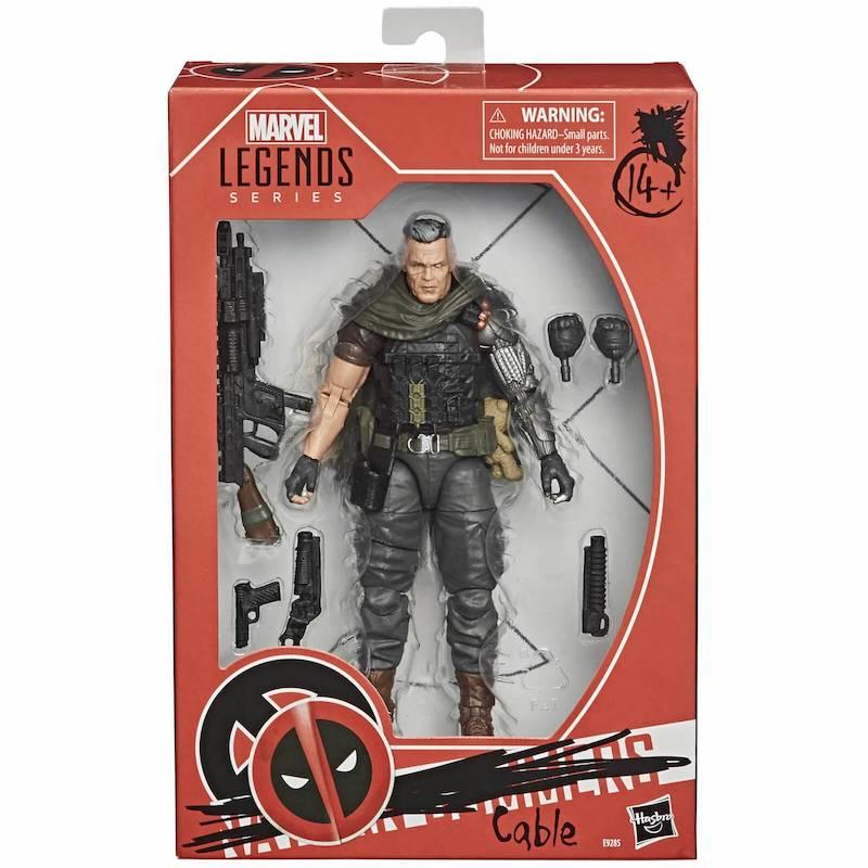 Hasbro Marvel Legends Deadpool Movie Cable Figure Gets Re-Release & Pre-Orders