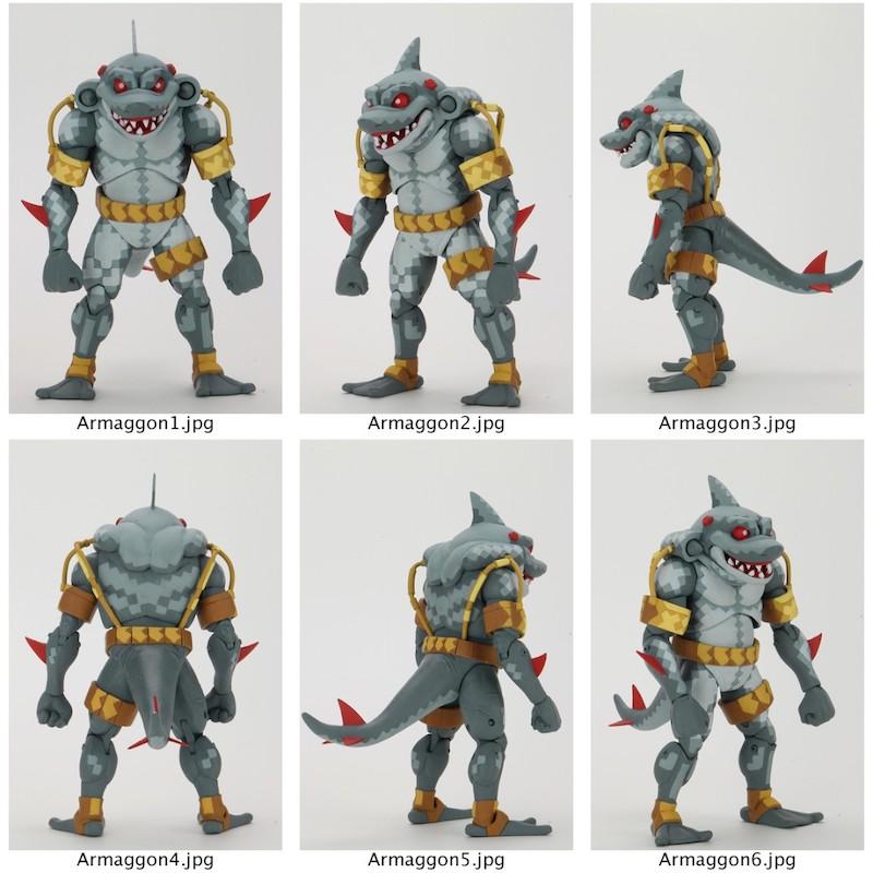 NECA Toys & Lootcrate Teenage Mutant Ninja Turtles Tournament Fighters Armaggon Figure